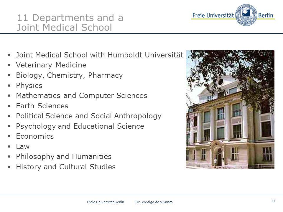 11 Freie Universität Berlin Dr.