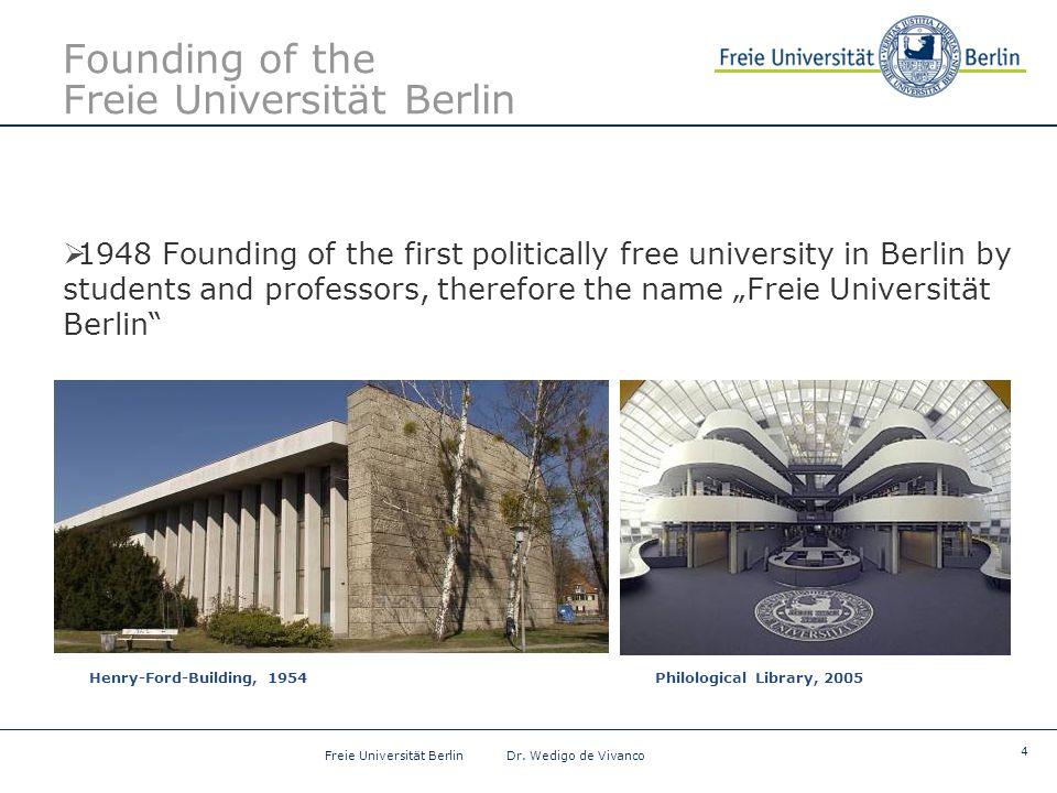 4 Freie Universität Berlin Dr.