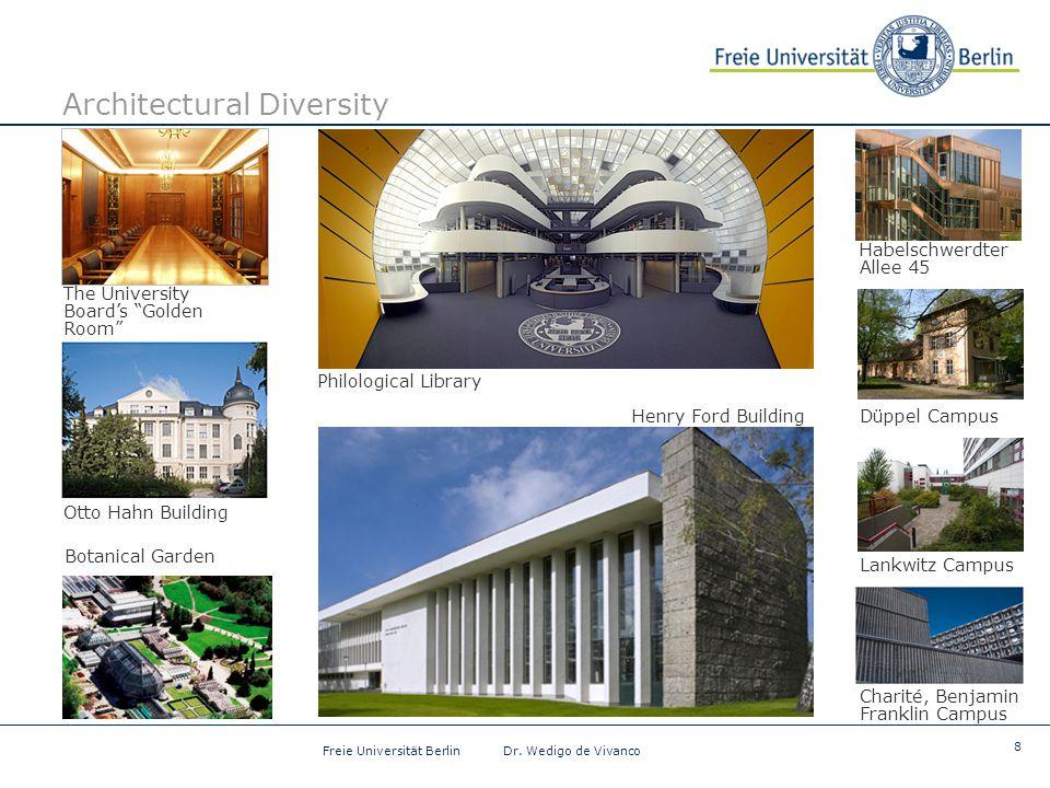 8 Freie Universität Berlin Dr.