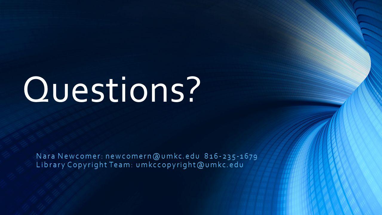 Questions.