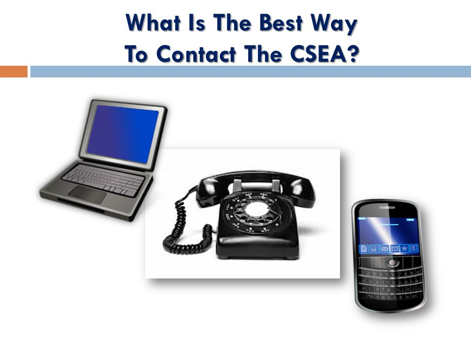 What Is The Best Way To Contact The CSEA
