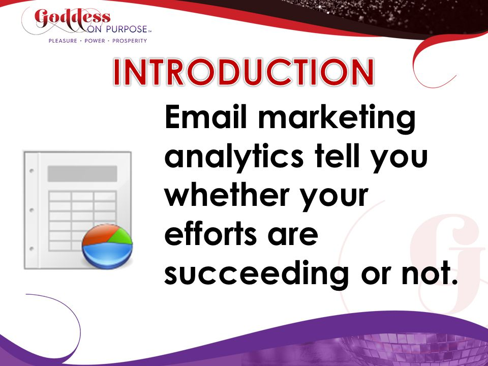 Email marketing analytics tell you whether your efforts are succeeding or not.