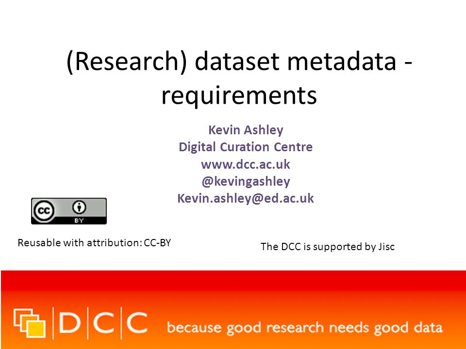 2013-09-09Kevin Ashley – EuroCRIS 2013 - CC-BY12 National or international data centre Discovery service Institution CRIS The metadata that flows between these places isn't all the same and isn't all they have
