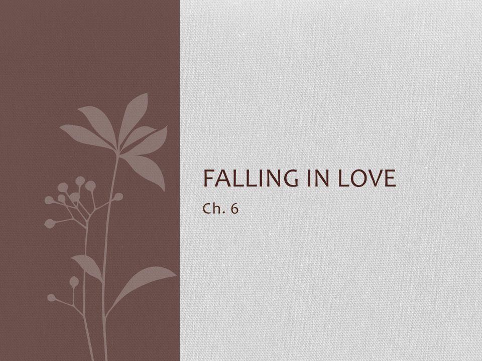 Ch. 6 FALLING IN LOVE