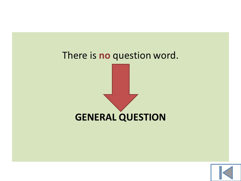 There is a question word WHAT . Special question
