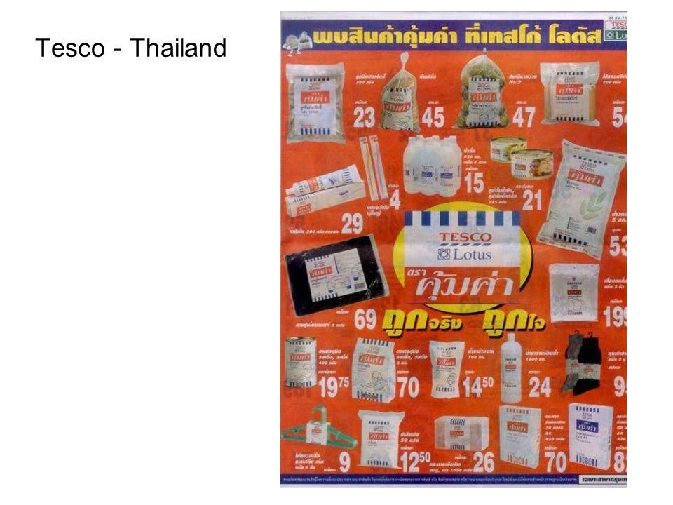 Tesco - Thailand