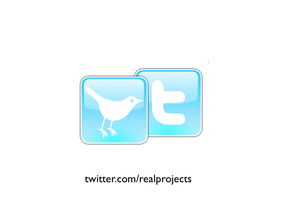 twitter.com/realprojects