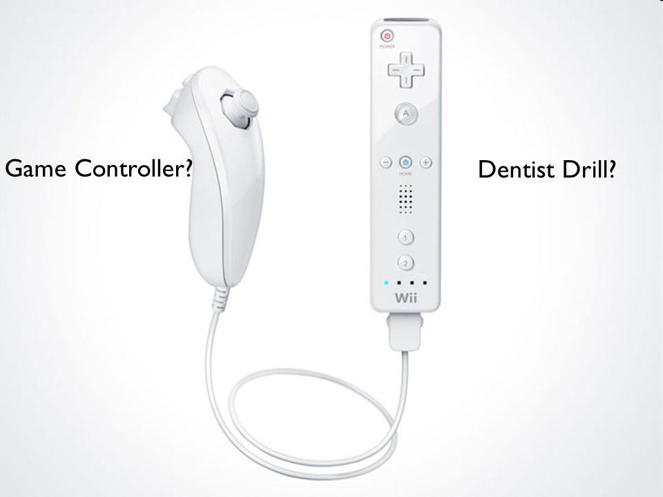 Dentist Drill Game Controller