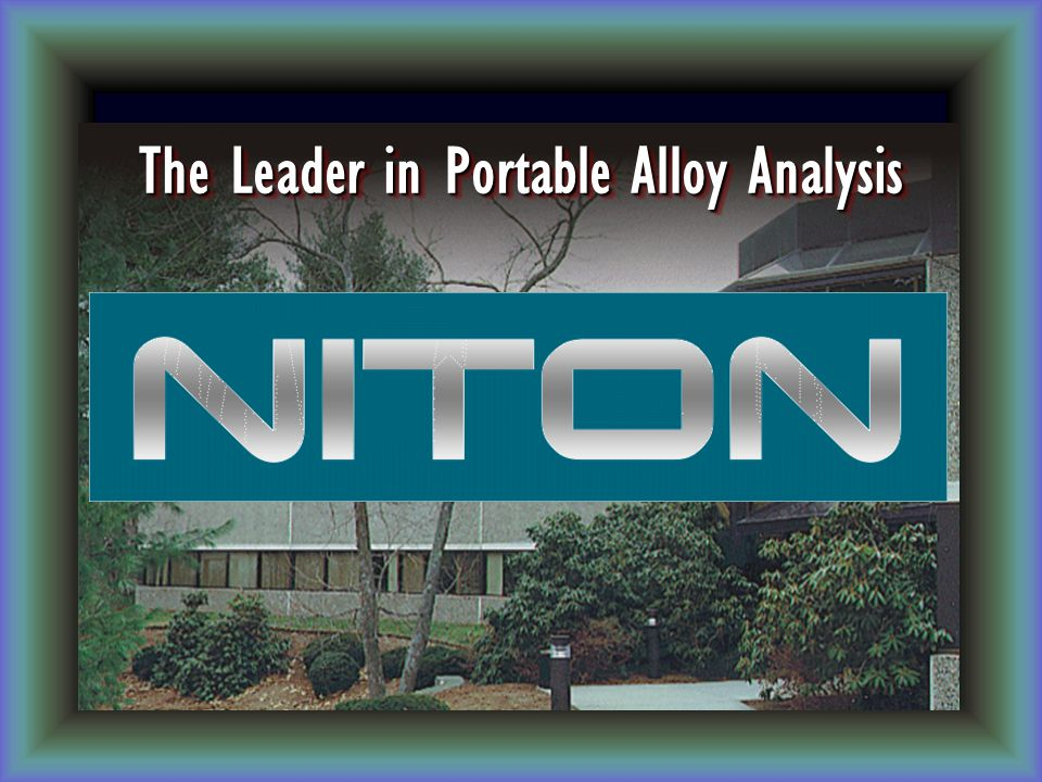 The Leader in Portable Alloy Analysis