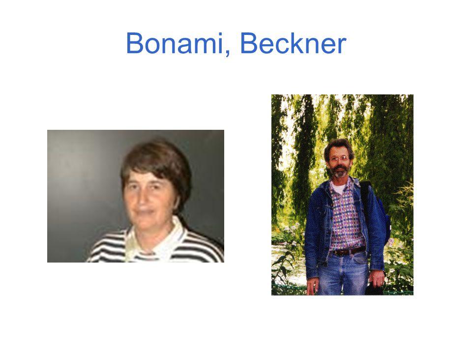 Bonami, Beckner