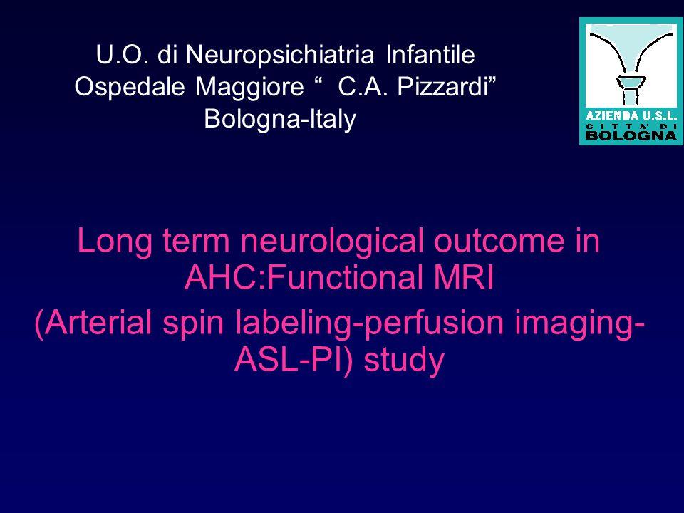 U.O. di Neuropsichiatria Infantile Ospedale Maggiore C.A.