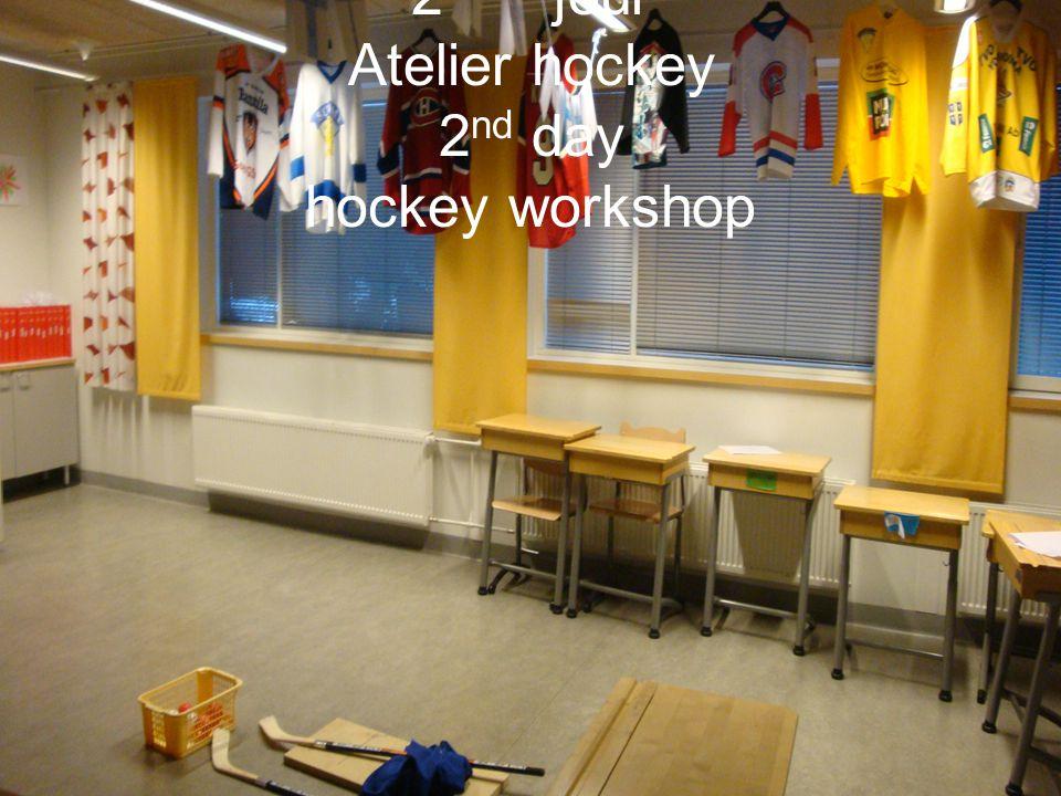 2 ème jour Atelier hockey 2 nd day hockey workshop