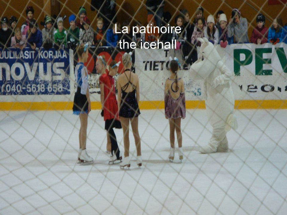La patinoire the icehall
