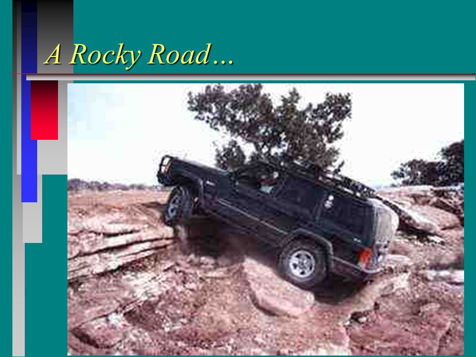 A Rocky Road…
