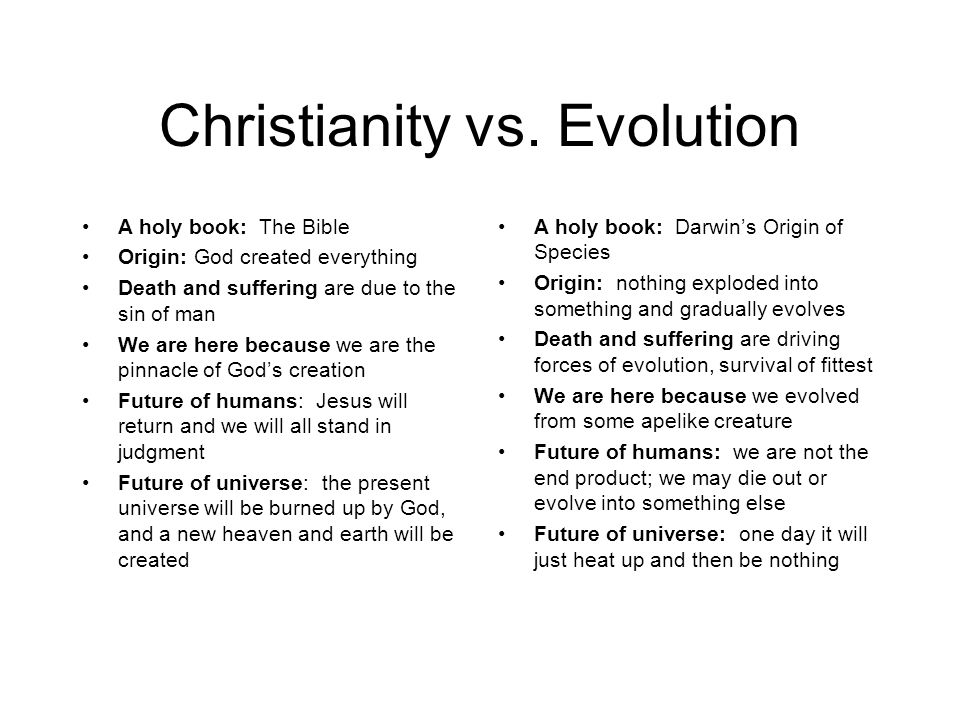 Christianity vs.
