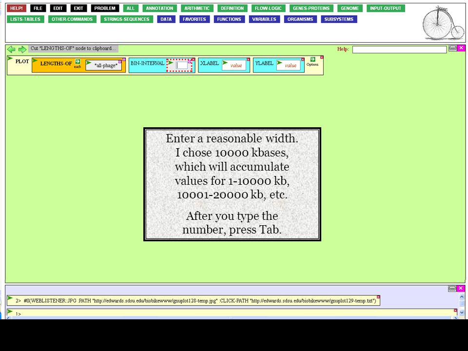 Enter a reasonable width.