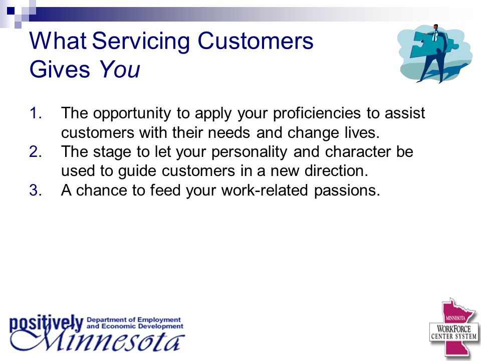 Discussion Point 1.When was the last time you saw someone with passion serving customers.