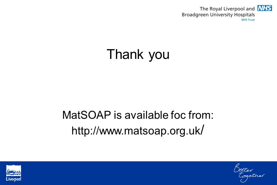 Thank you MatSOAP is available foc from: http://www.matsoap.org.uk /
