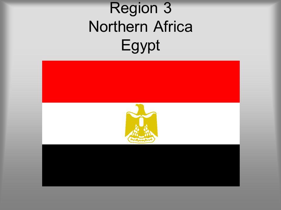 Region 3 Northern Africa Egypt