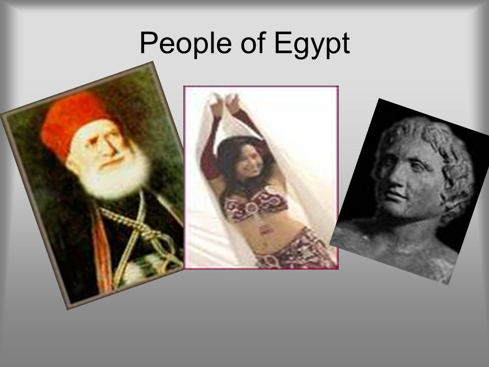 People of Egypt