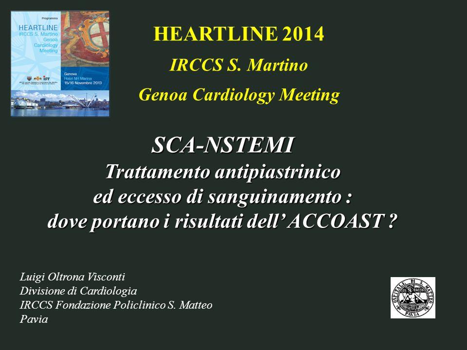 Luigi Oltrona Visconti Divisione di Cardiologia IRCCS Fondazione Policlinico S.