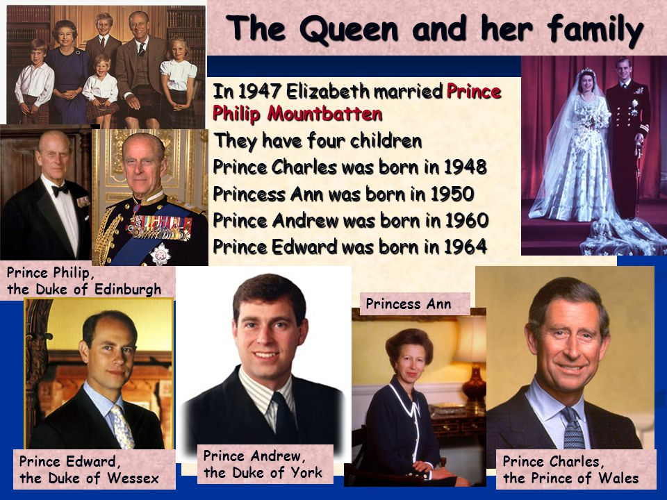The heirs to the throne Prince Charles is the next to the throne In 1981 he married Lady Diana Spencer and they had two sons Prince William, the Prince of Wales - born in 1982 Prince Henry – born in 1984 They are the next ancestors to the crown after their father In 2005 Charles married for the second time, he married Lady Camilla Parker-Bowles Charles and Camilla Prince William Prince Henry