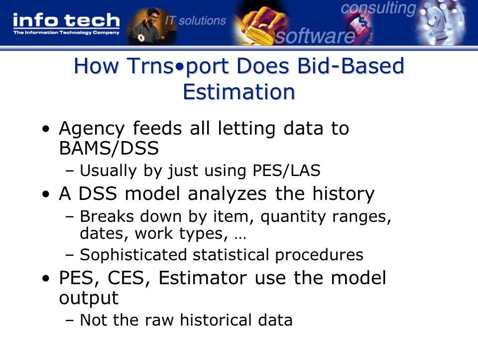Trnsport Bid-Based Data Flow