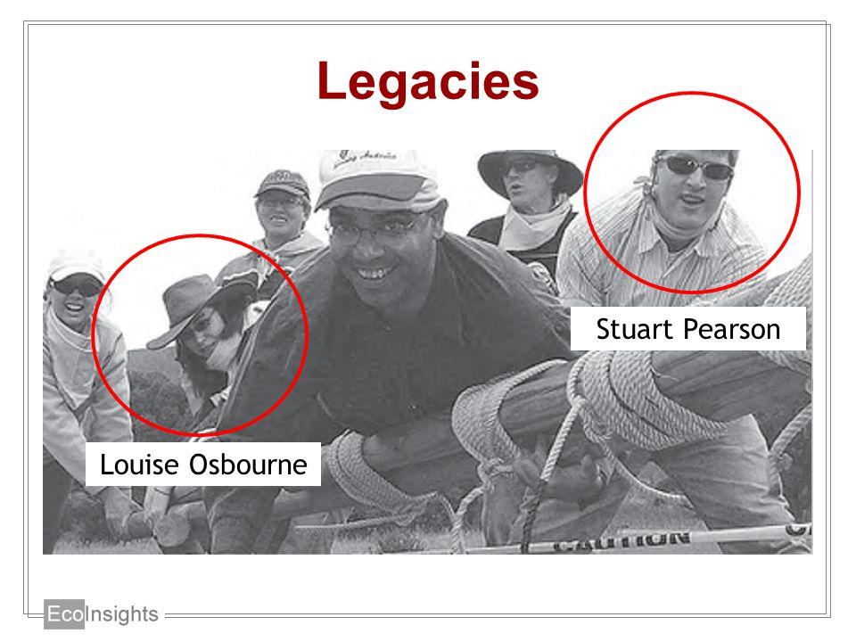 Legacies Louise Osbourne Stuart Pearson