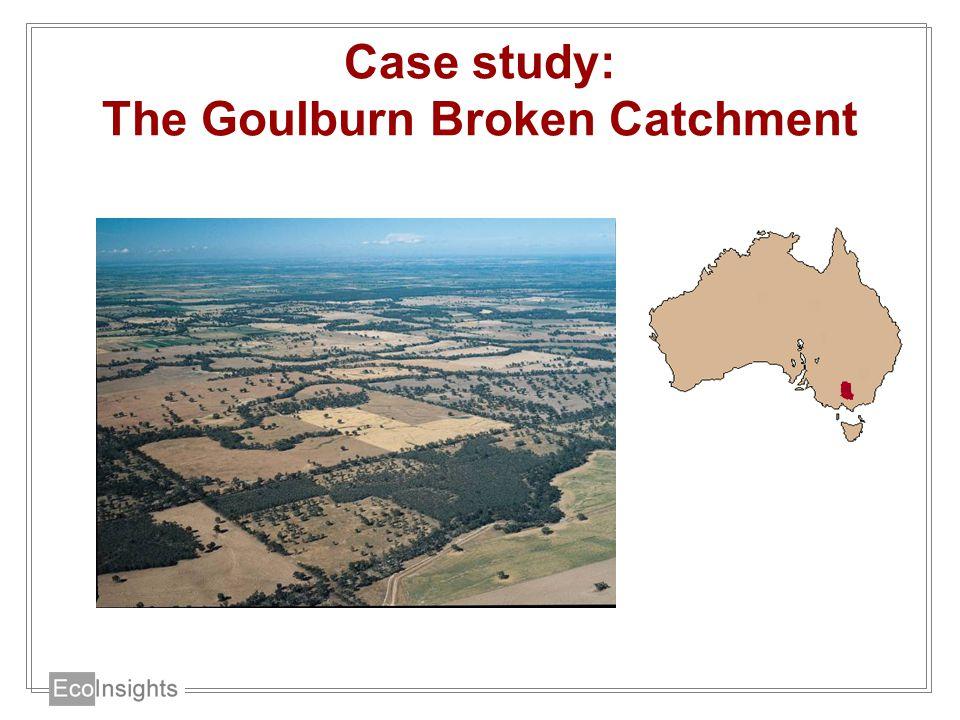Case study: The Goulburn Broken Catchment