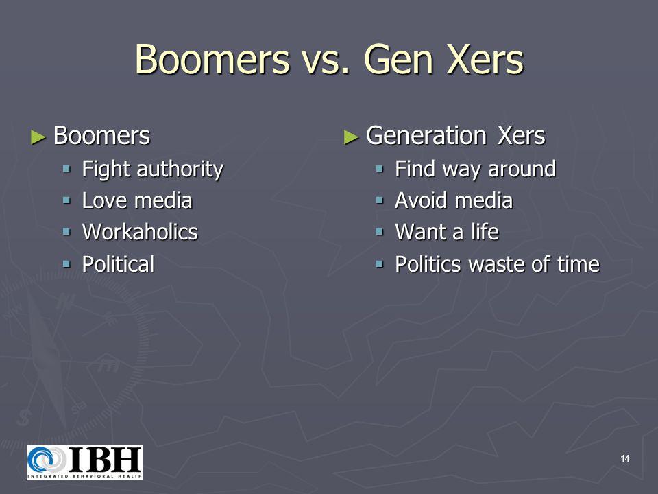 14 Boomers vs.