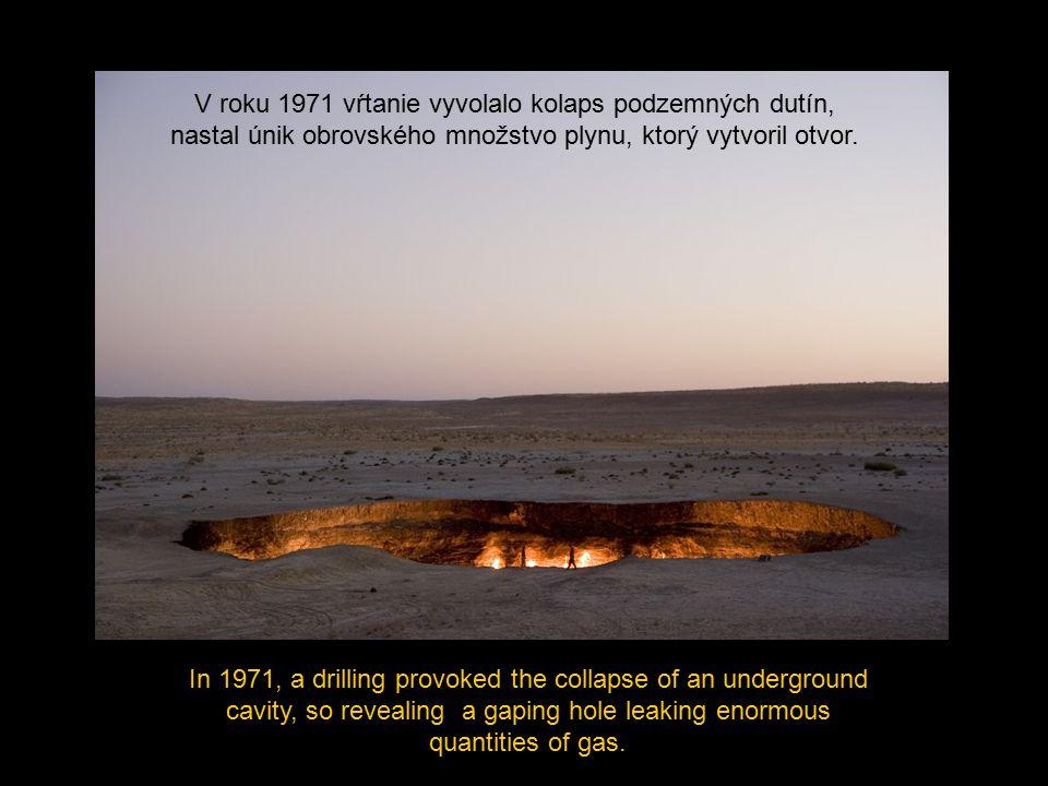 The geologists decided to torch the well to eliminate such toxic gas, Geológovia sa rozhodli zapáliť pochodeň na odstránenie týchto toxických plynov,