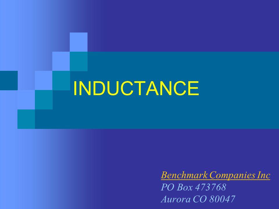 INDUCTANCE Benchmark Companies Inc PO Box 473768 Aurora CO 80047