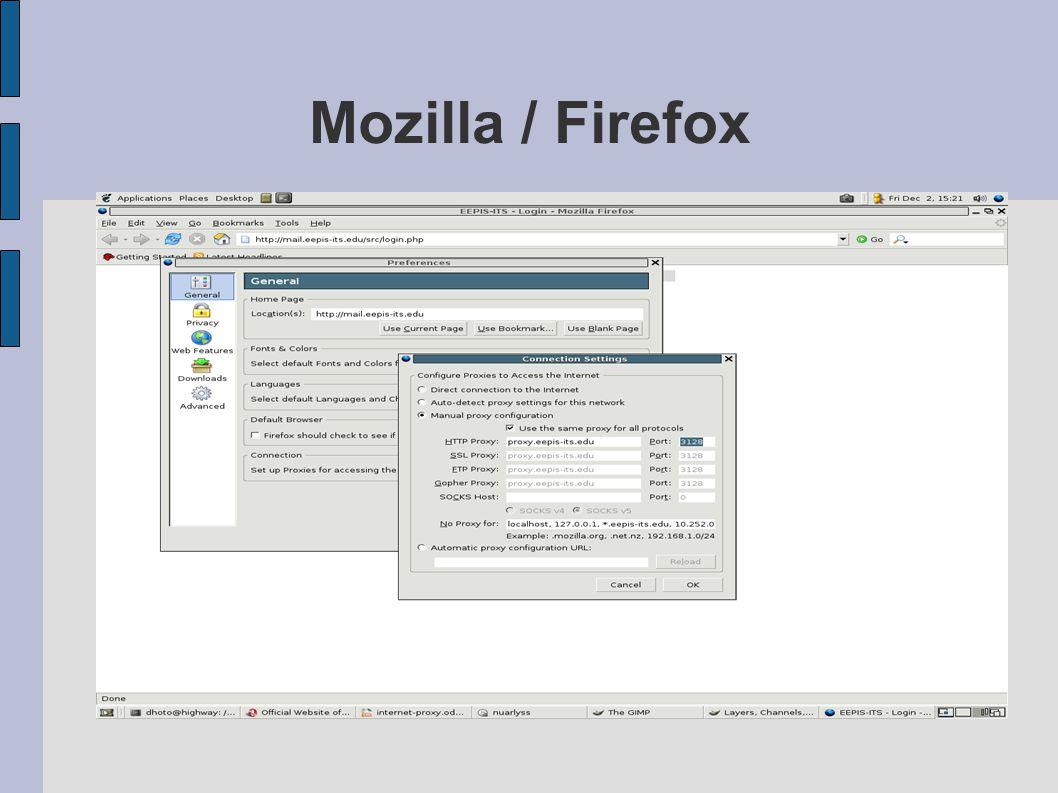 Mozilla / Firefox