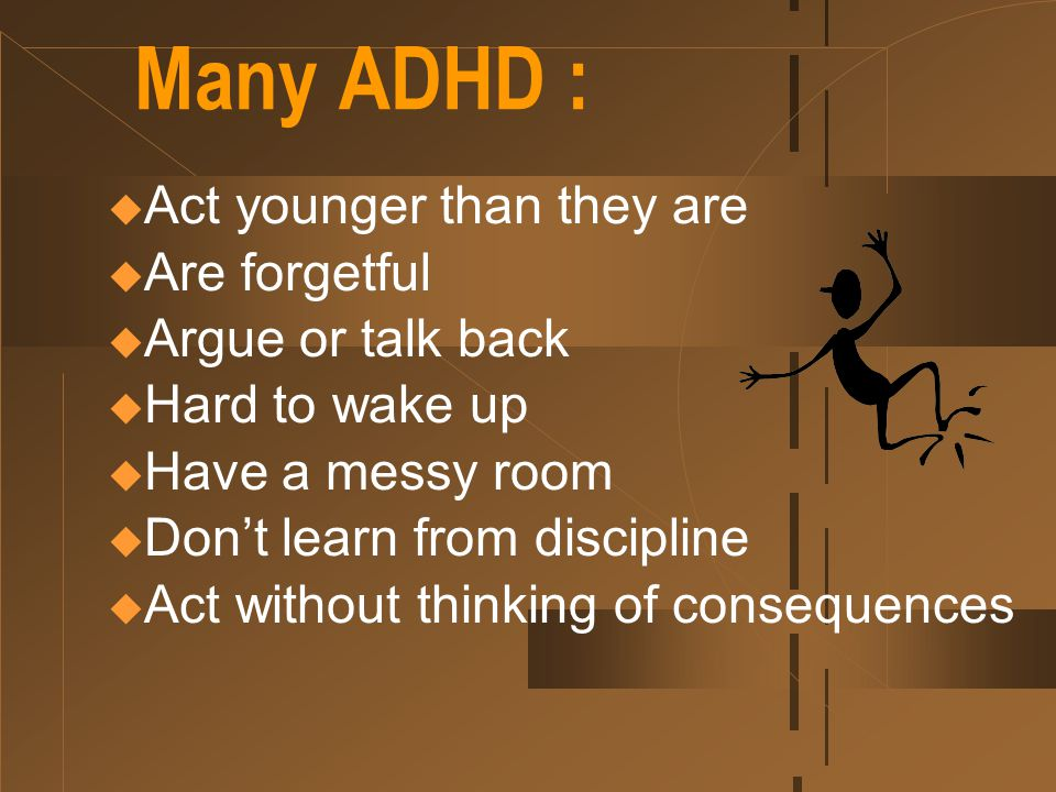 ADHD Common Behaviors Elham Shirazi MD Child & Adolescent Psychiatrist