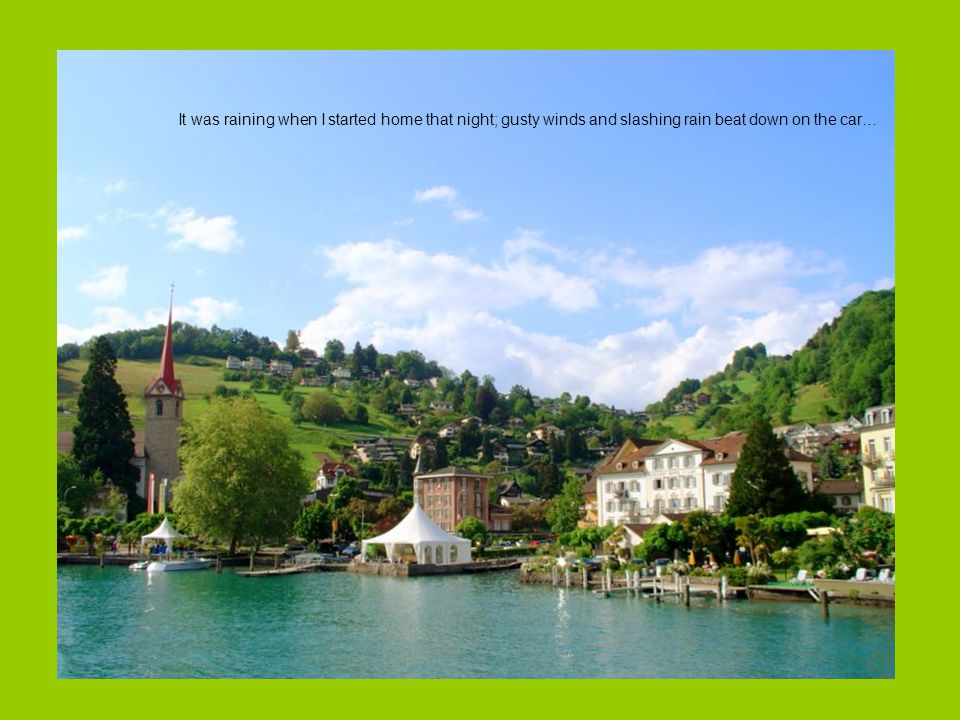 Who is handicapped (Photos: Switzerland Sceneries) (Music: Walking left and right )