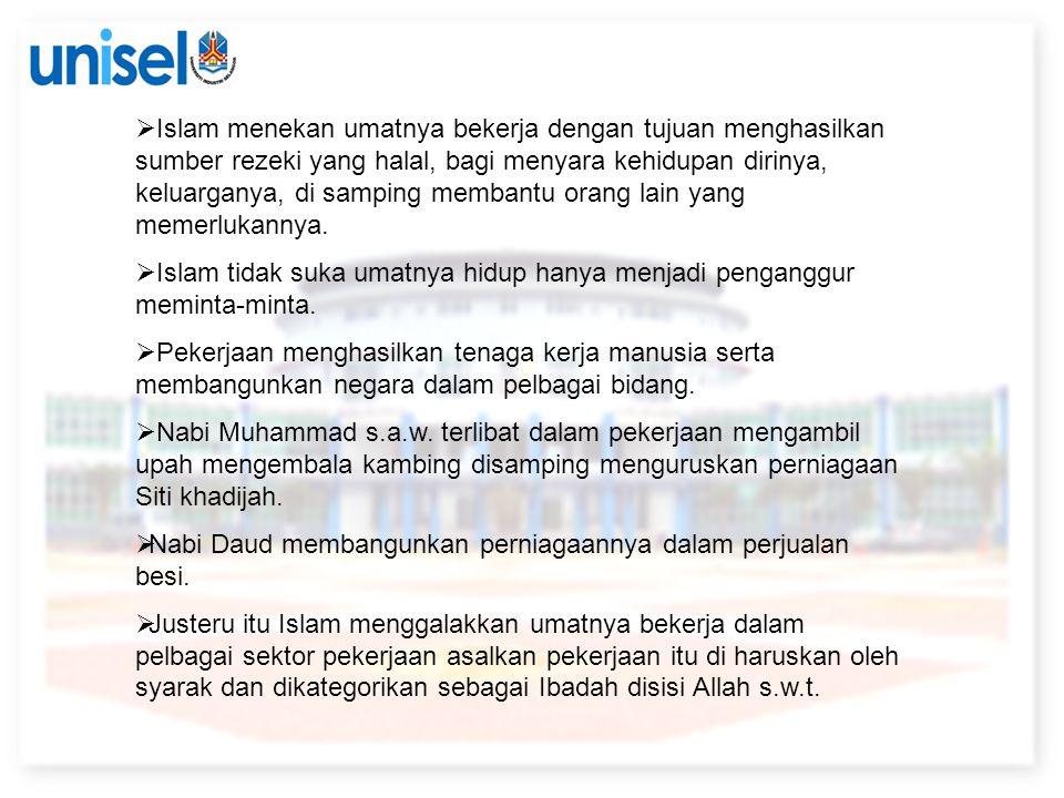 NILAI-NILAI KERJAYA DALAM ISLAM.1.