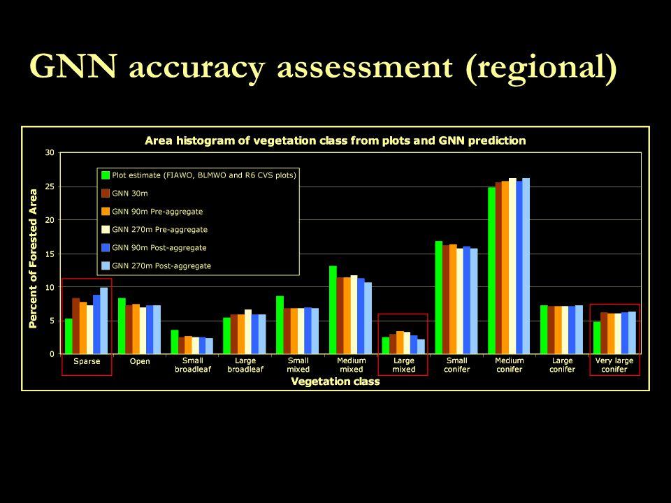 GNN accuracy assessment (regional)