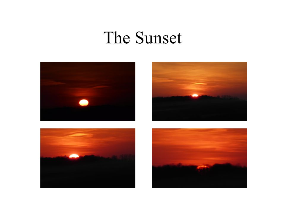 The Sunset