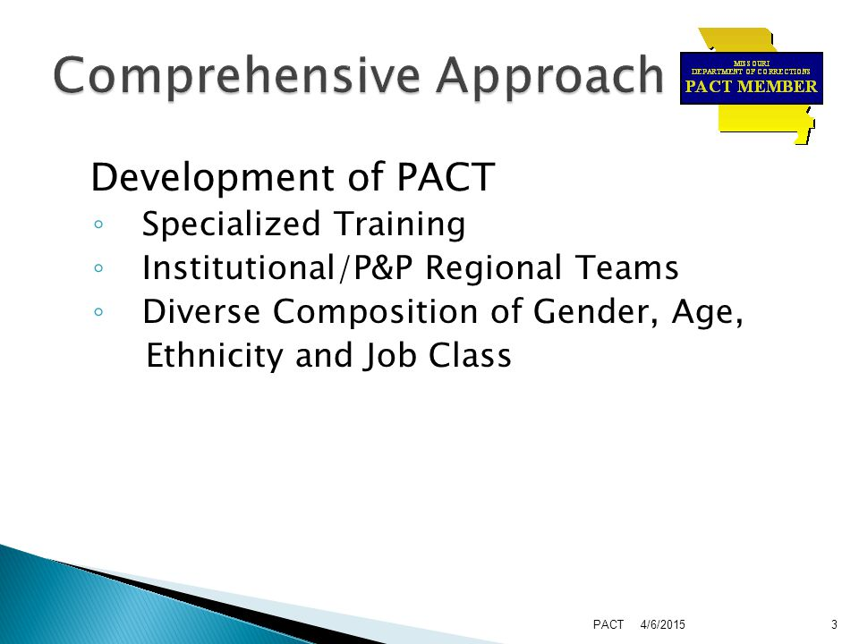  Application Process  References  Interviews Held  Voted on by Existing Team Members 4/6/2015PACT4