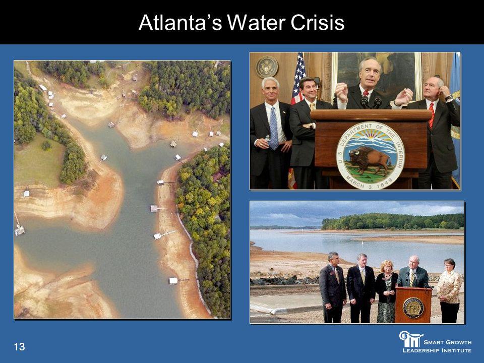 13 Atlanta's Water Crisis