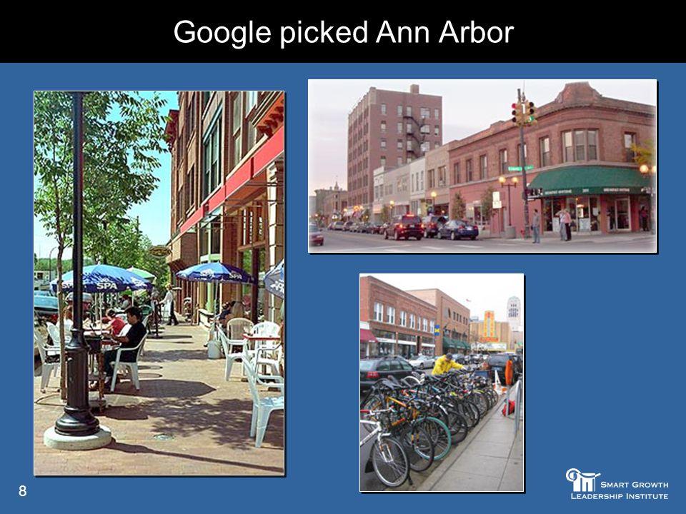 8 Google picked Ann Arbor