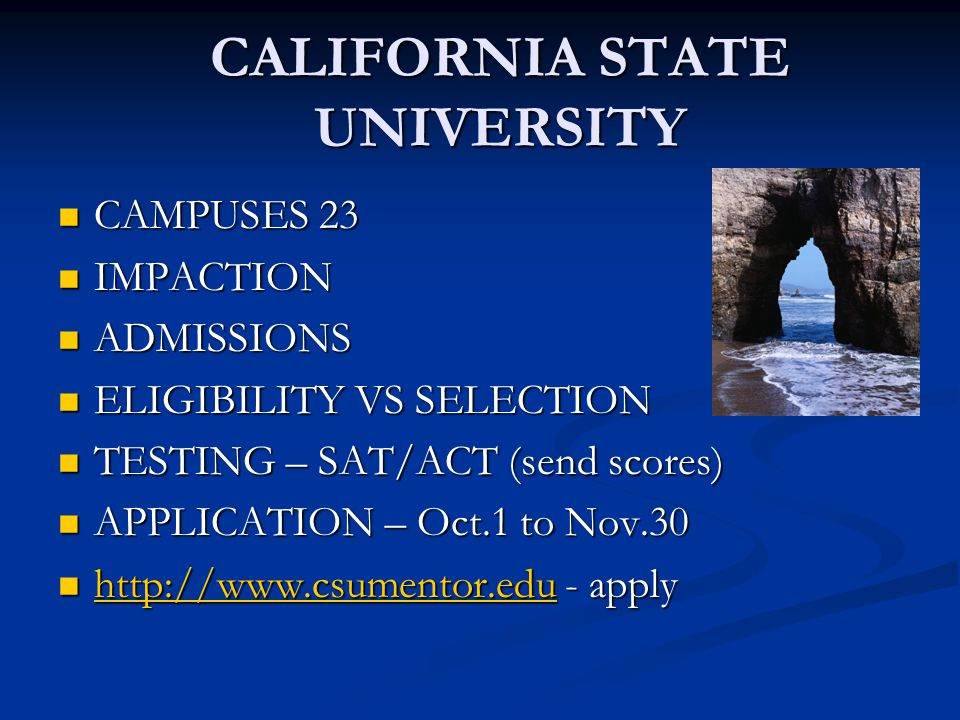 CSU ADMISSIONS 2011 CAL POLY SLO (16) gpa 3.92 – sat 1298 CAL POLY SLO (16) gpa 3.92 – sat 1298 SAN DIEGO ST.
