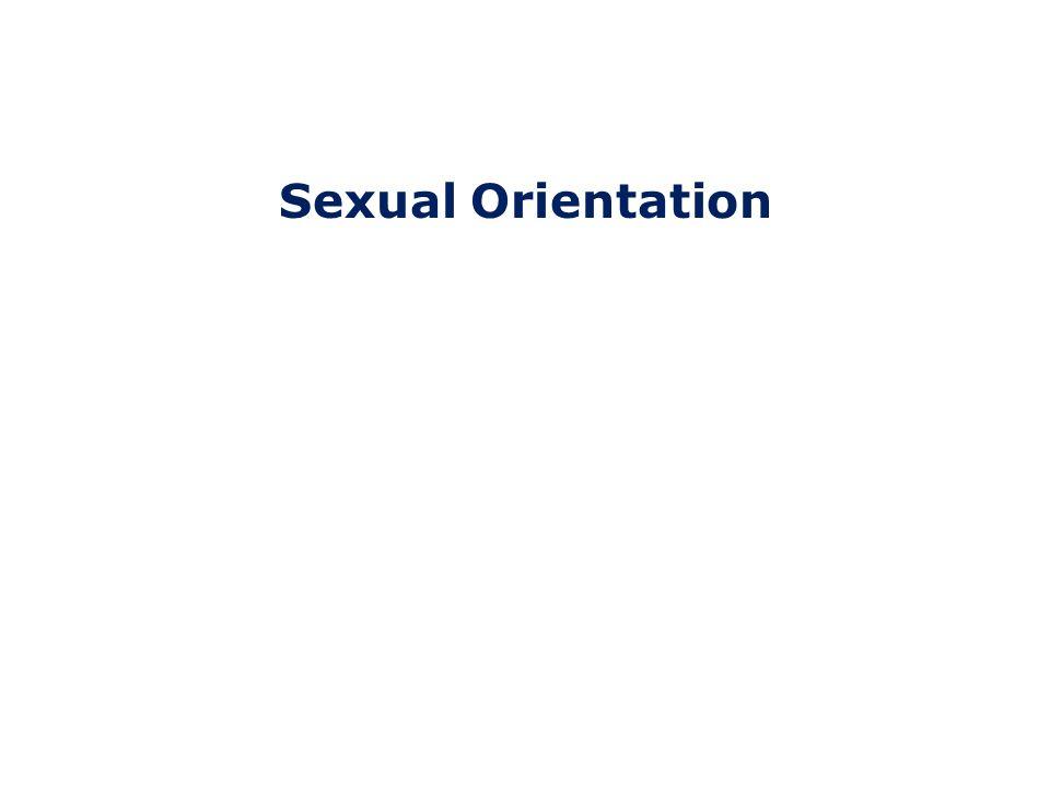 Sexual Orientation L.G.B.T.