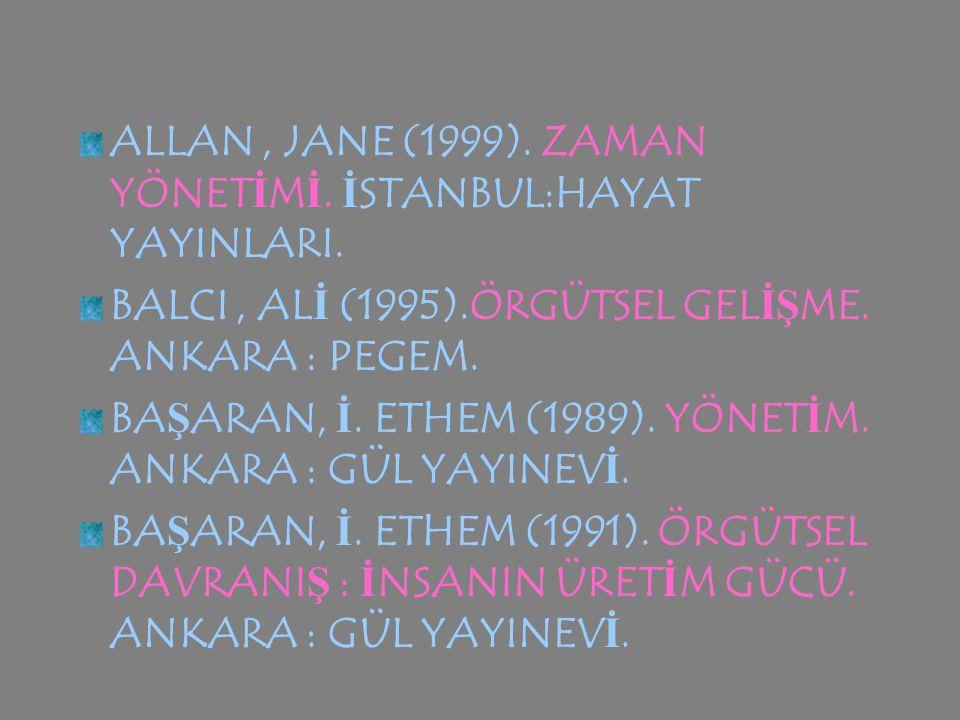 ACAR, BALTA Ş (2001). BEDEN İ N D İ L İ. İ STANBUL : REMZ İ K İ TABEV İ.