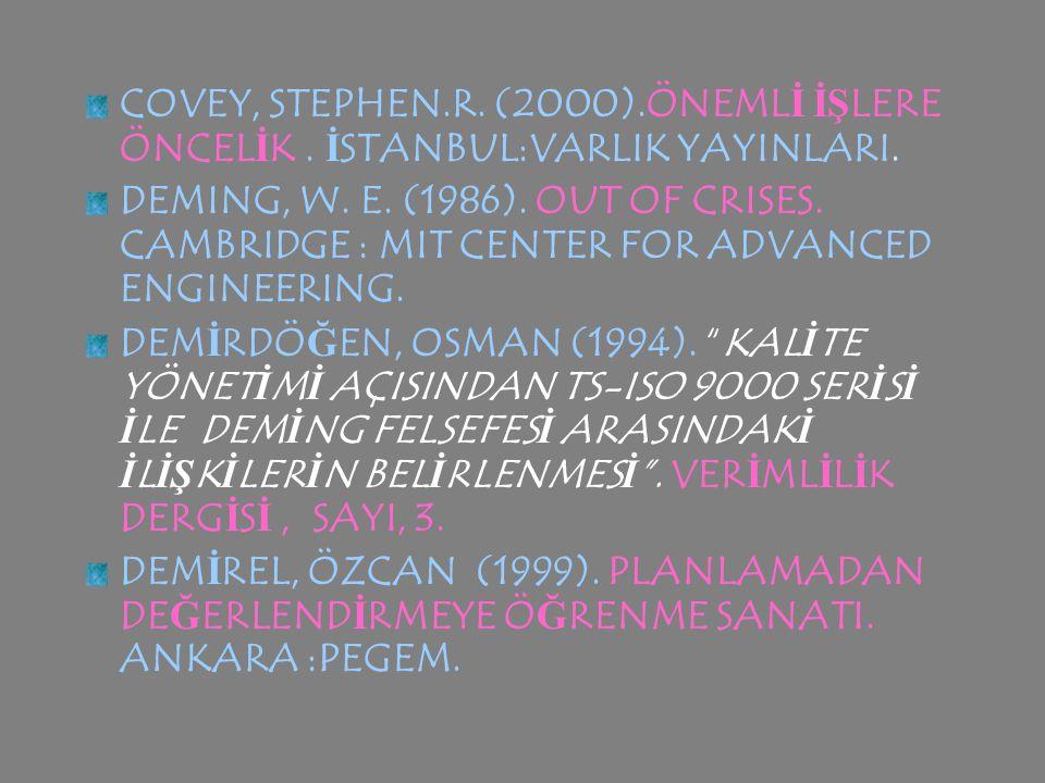 CALABRESE, RAYMOND L. (1989). ETH İ CS FOR PR İ NC İ PALS .