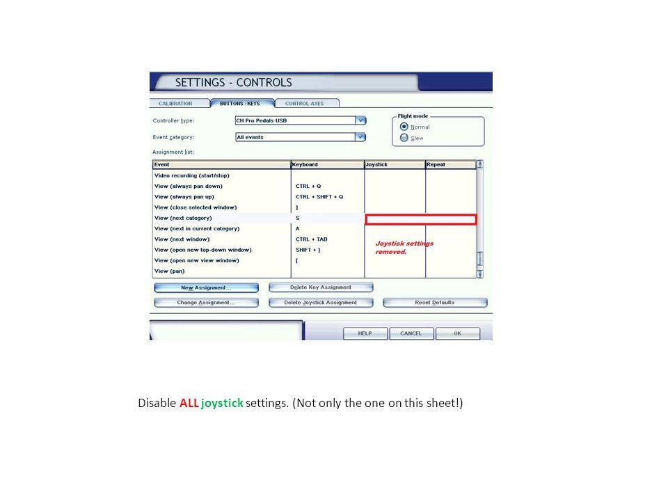 Acitvate Select for key press.