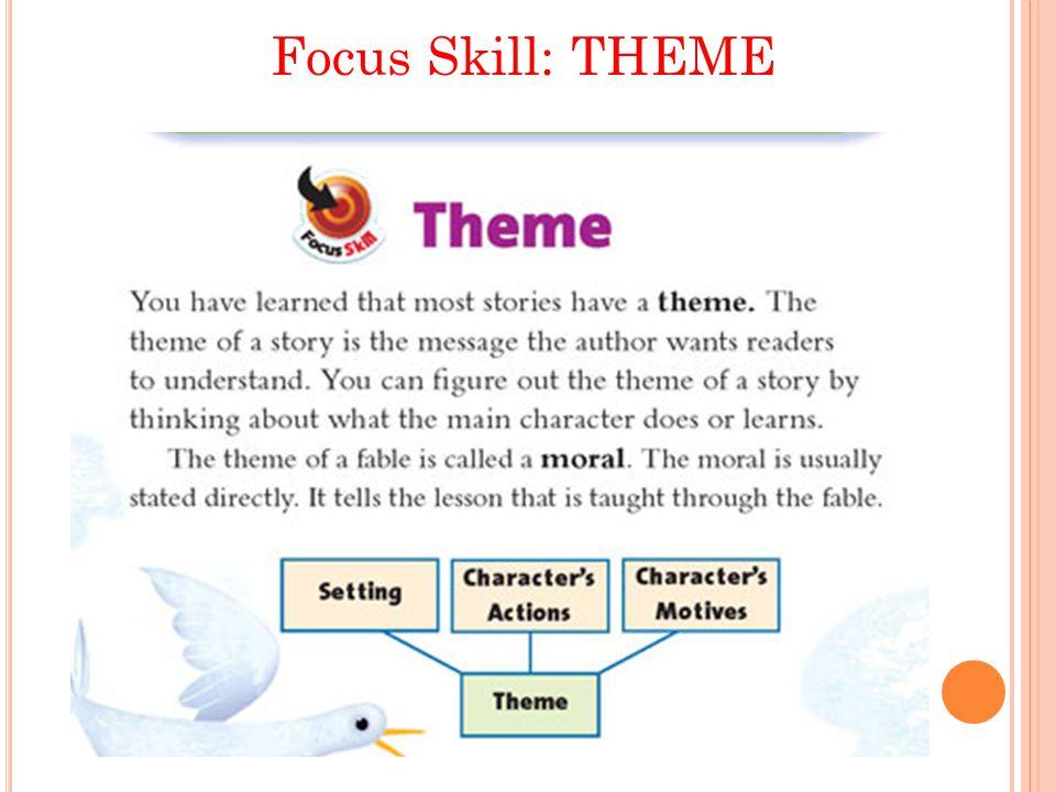 Focus Skill: THEME