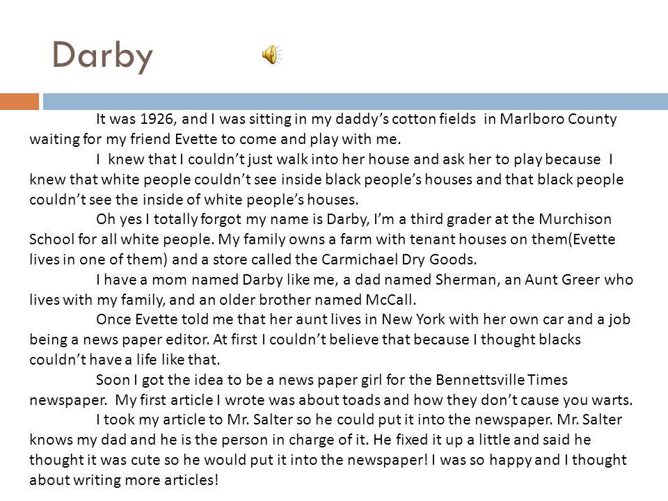 DARBY By Lily Tripp