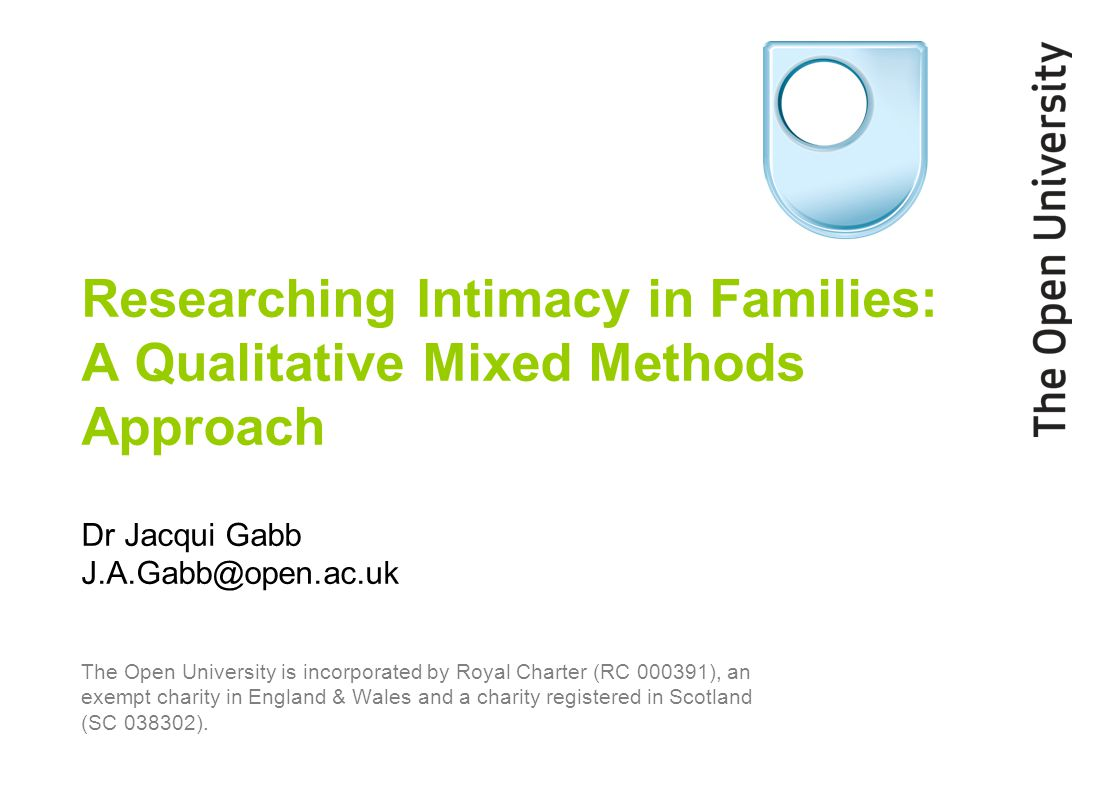 'Researching Families' project Behind Closed Doors (RES-000-220854) www.researchingfamilies.co.uk