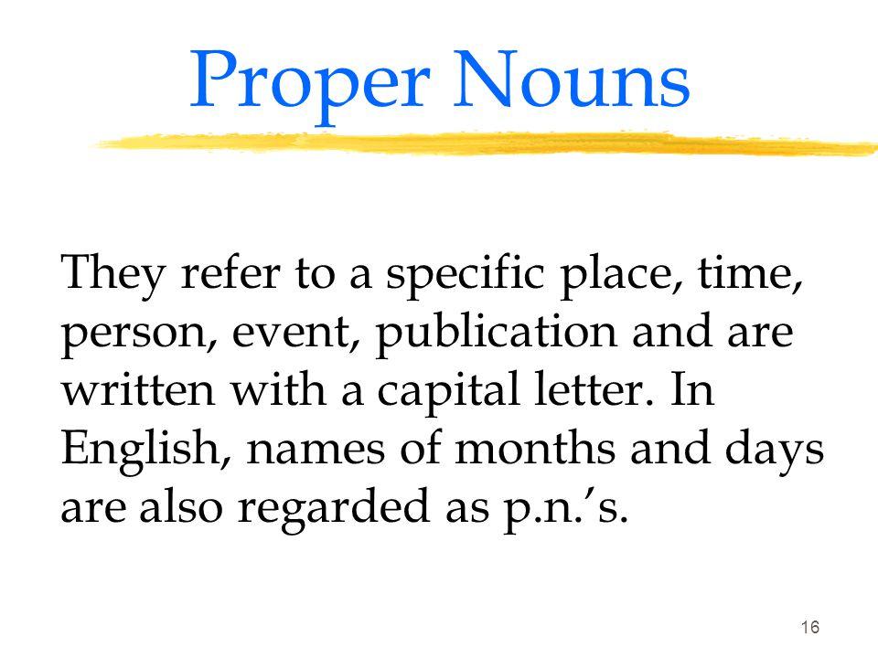 15 THE NOUN (Factors) 3.